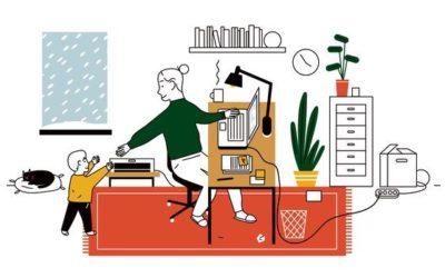 Thuiswerken in Corona tijden: hoe doe je dat?